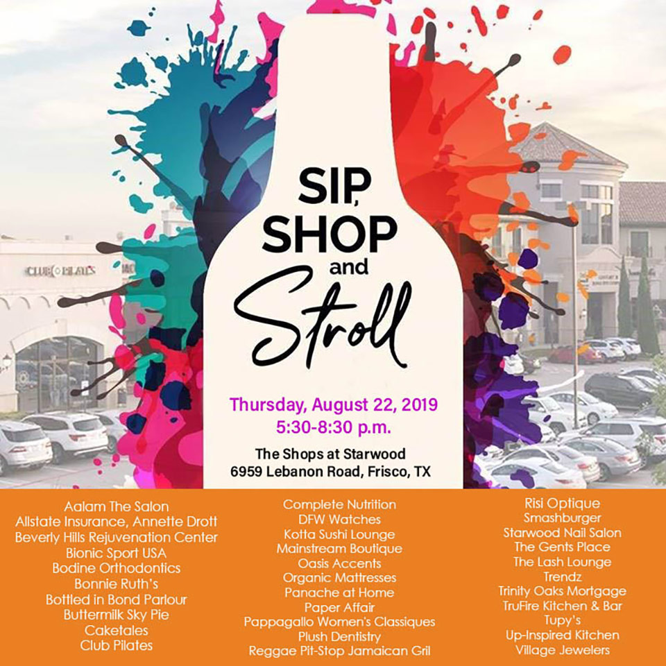 sip shop stroll starwood
